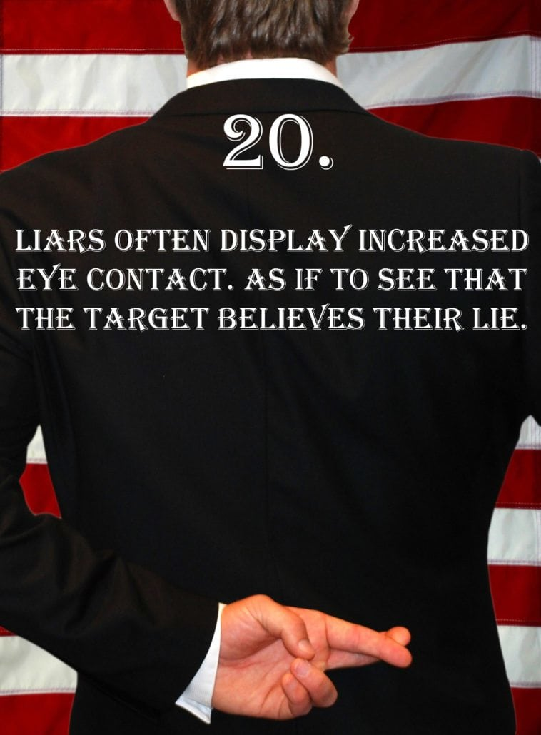 Deception Tip 20 - How To Detect Deception - A Guide To Deception
