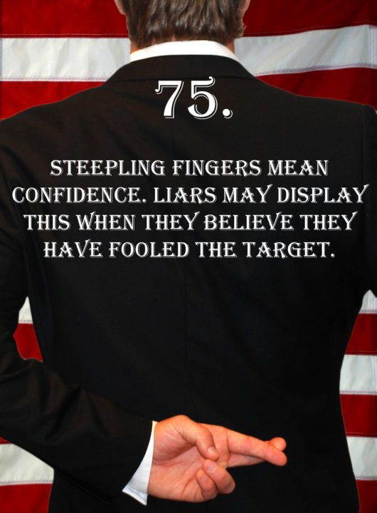 Deception Tip 75 - How To Detect Deception - A Guide To Deception - Author Spencer Coffman