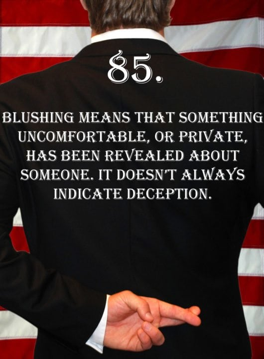 Deception Tip 85 - How To Detect Deception - A Guide To Deception - Author Spencer Coffman