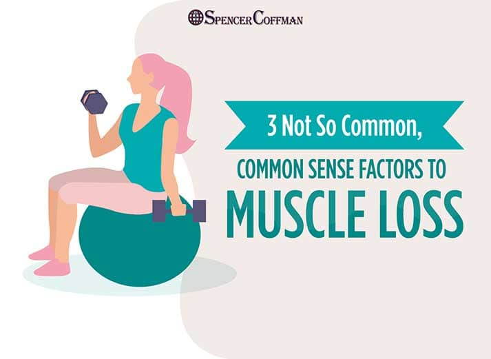 3 Not So Common, Common Sense Factors To Muscle Loss - Spencer Coffman