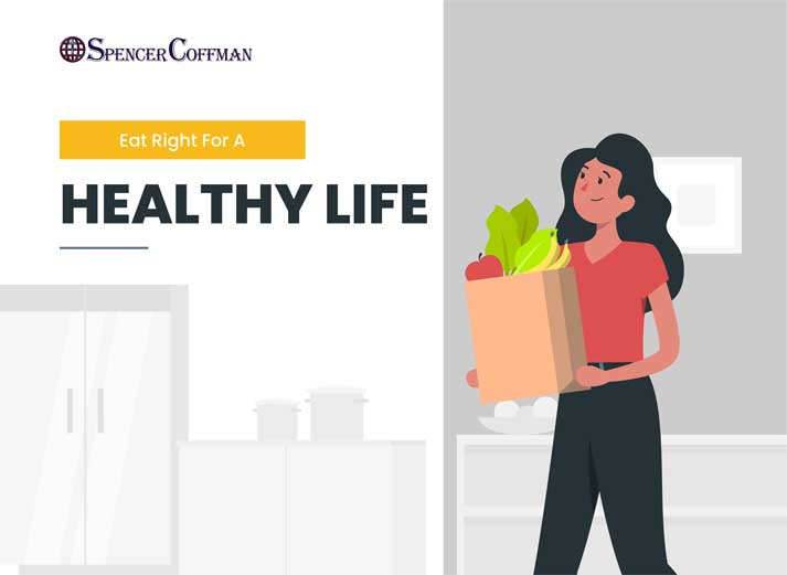 Eat Right For A Healthy Life – Spencer Coffman