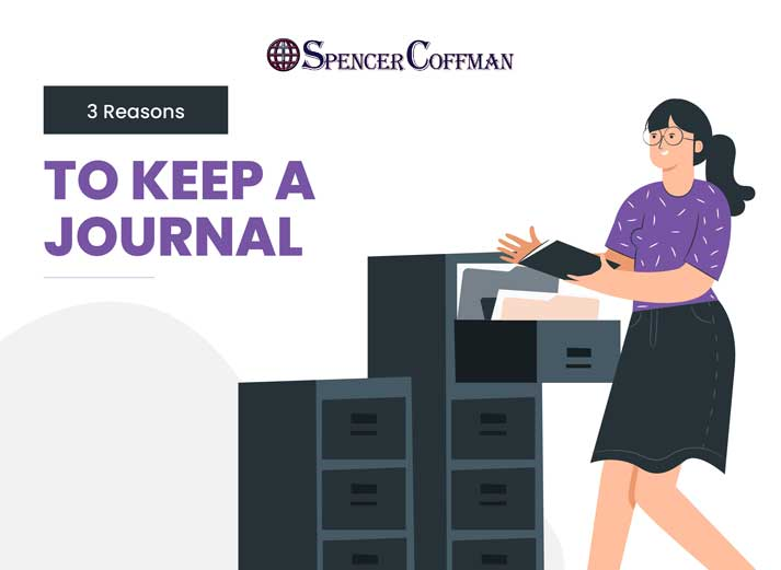 3 Reasons To Keep A Journal – Spencer Coffman