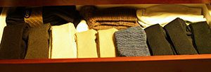 closets in order sock drawer spencer coffman