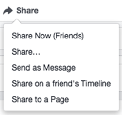 communicate on facebook share post spencer coffman