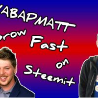 How To Grow Fast On Steemit According To Yabapmatt